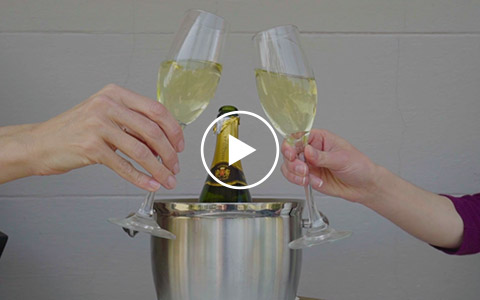 John Rutledge Gallery Video Champagne On Balcony 480x300