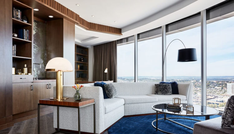 JW Marriott Nashville Rooms Skyline Presidential Suite 1