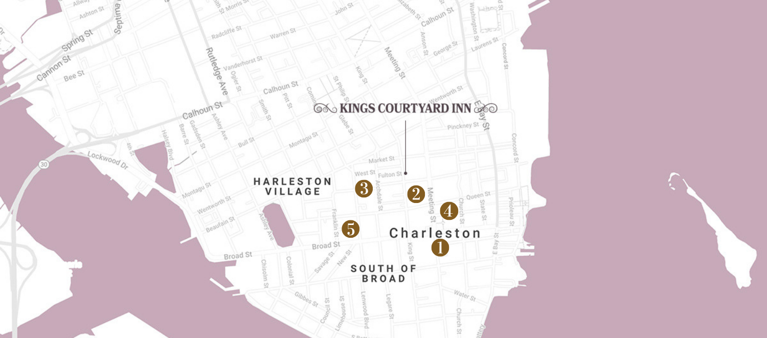Historic Churches Guide to Charleston