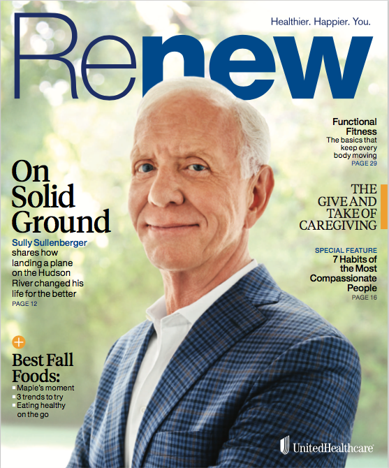 renew magazine cover