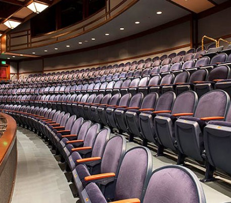 Dean Lesher auditorium chairs