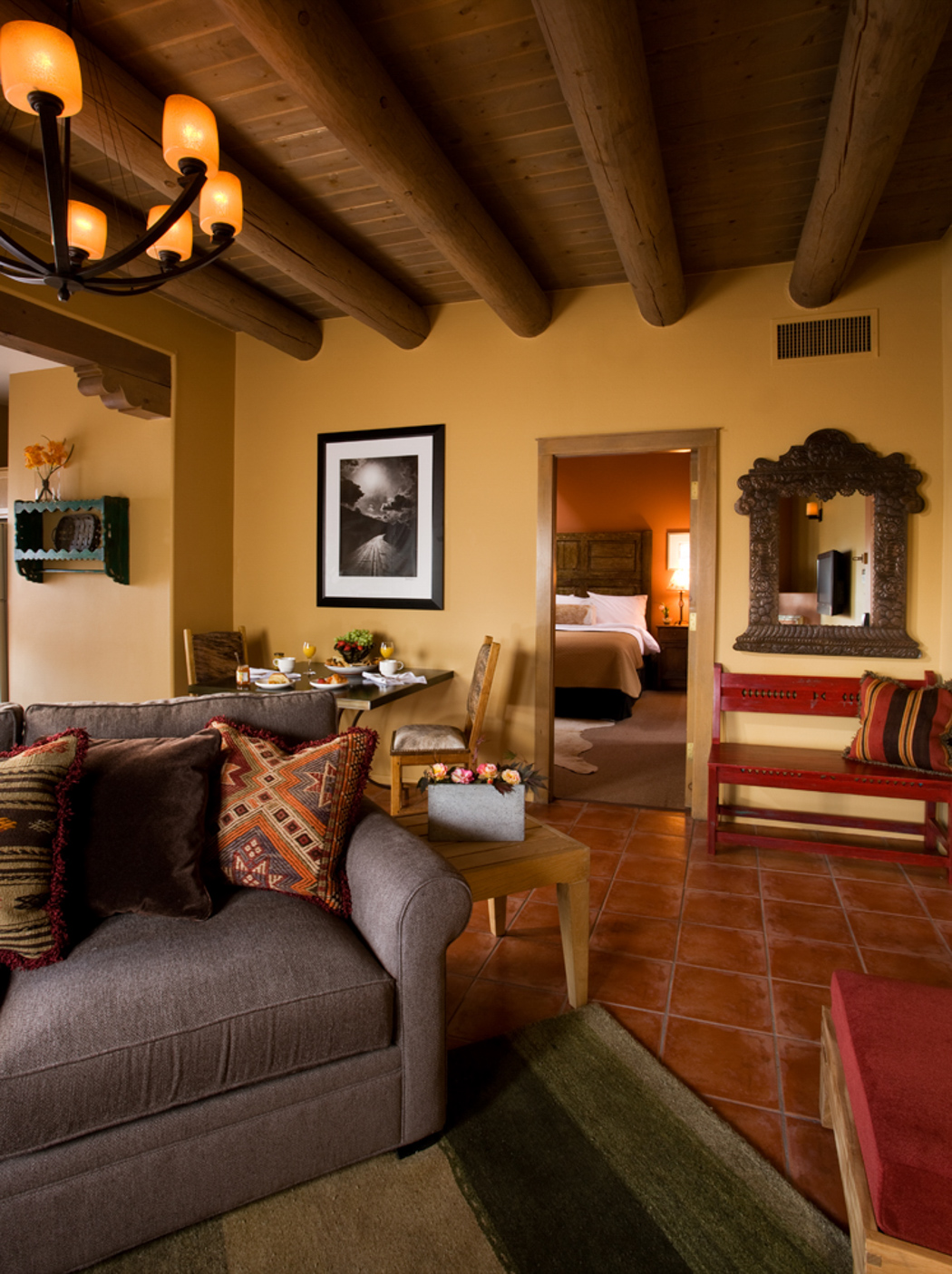 Rooms Historic Hotel In Santa Fe Las Palomas Hotel