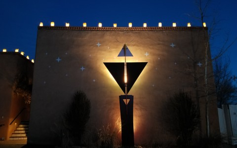 Las Palomas Exterior Building Lighting