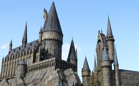 hogwarts castle at harry potter world at universal studios