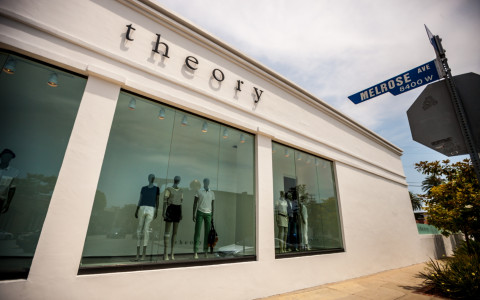 theory store on melrose avenue los angeles