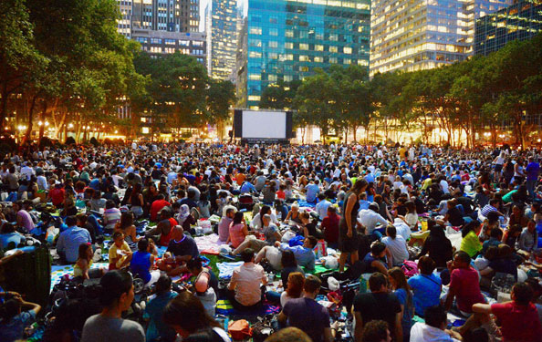 Summer Movies Under the Stars at Bryant Park