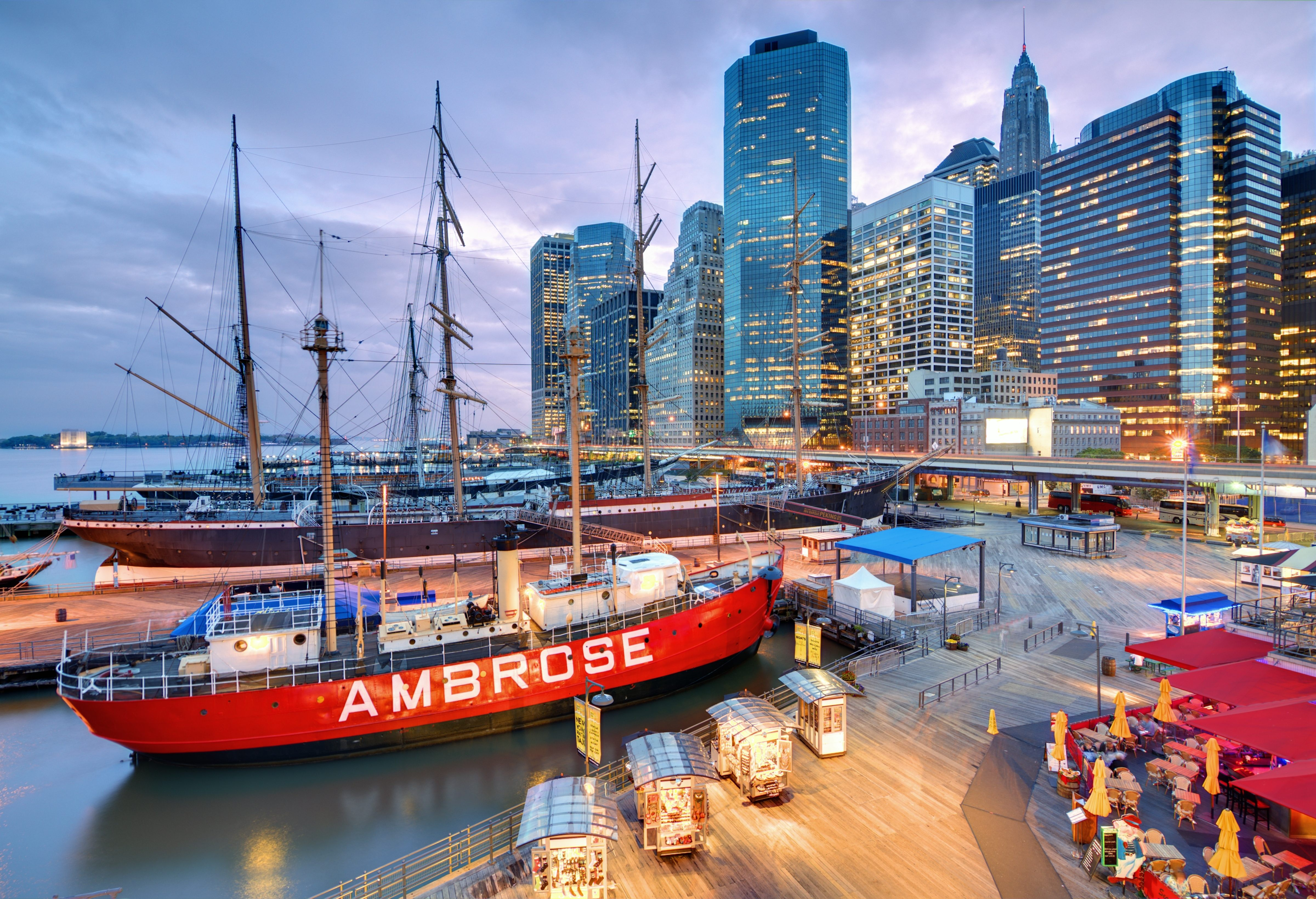 South Street Seaport | Near Lexington Ave Hotel