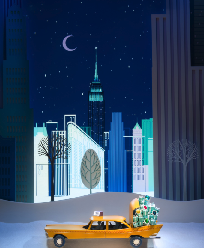 Take in the Dazzling Christmas Décor on New York's Opulent Fifth Avenue