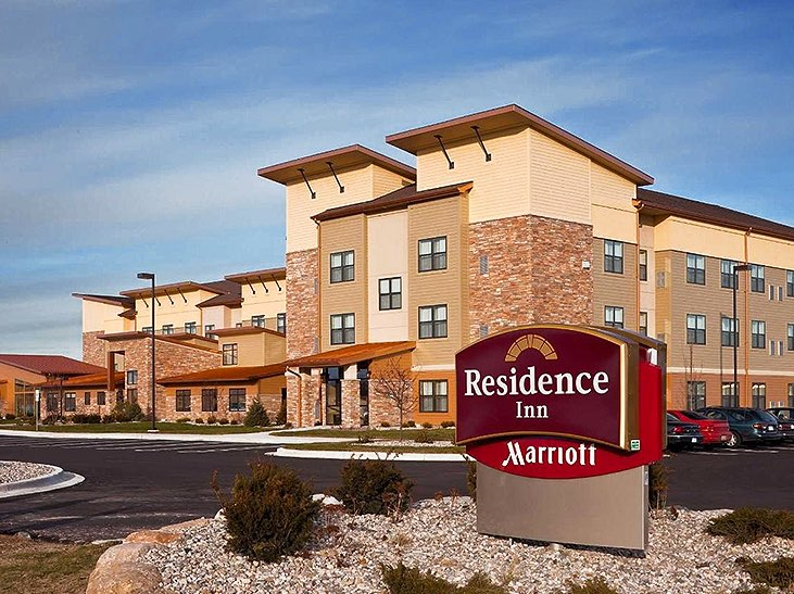 Brick Residence Inn by marriott building