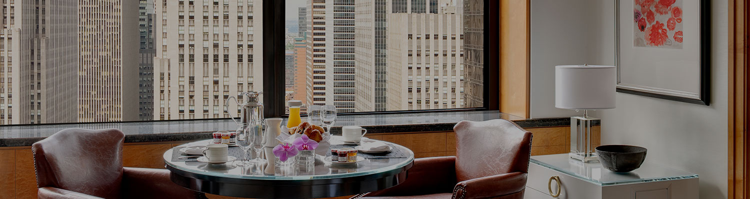 In-Room Dining in Midtown Manhattan | Hotel Dining | Lotte NYC