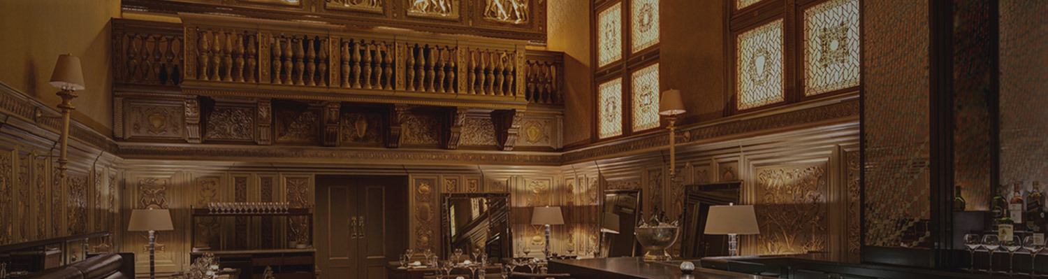 header image The Gold Room detailed gold ceilings