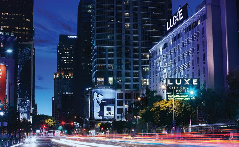 Luxe Hotels Our Hotels Luxe Cityt Center