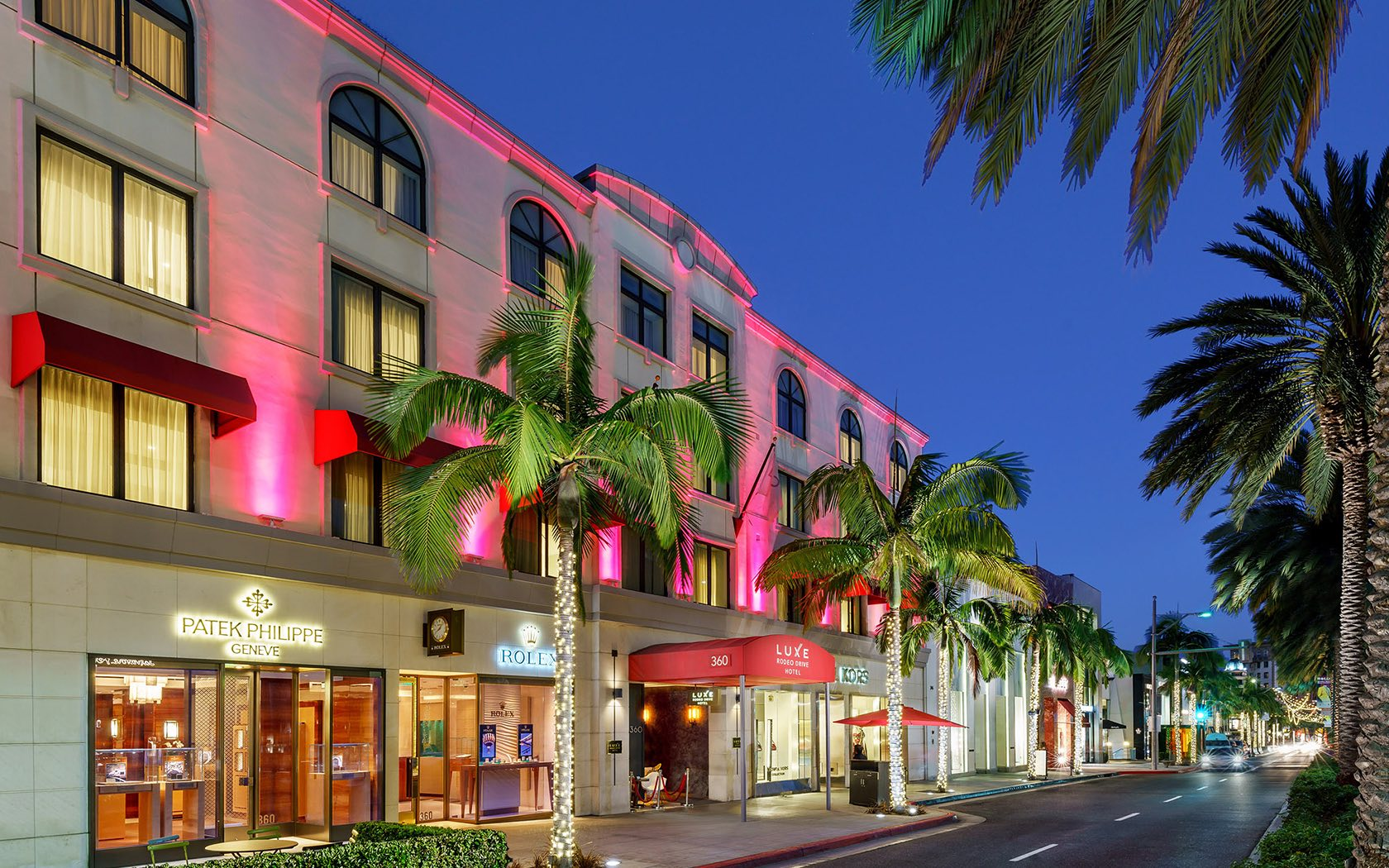 Beverly Hills Hotels View Our Photos Luxe Rodeo Drive