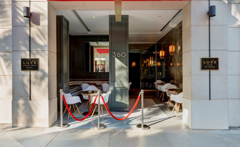 Step out of our Luxe Rodeo Drive hotel and experience what Beverly Hills has to offer.  Inset