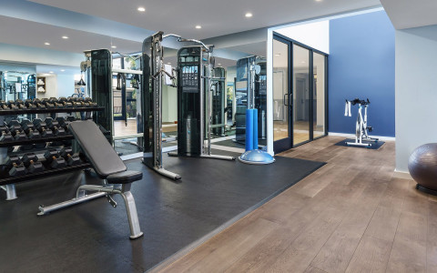 Luxe Sunset Fitness Center