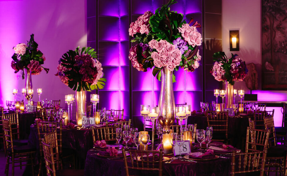 Tall, Beautiful floral centerpieces Inset