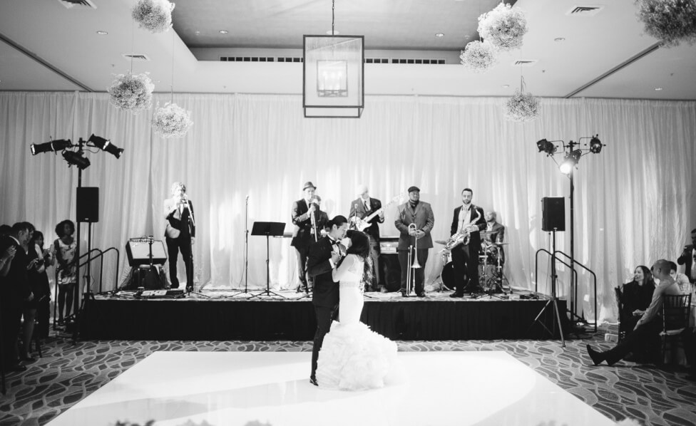 Bride and Grooms First Dance Inset