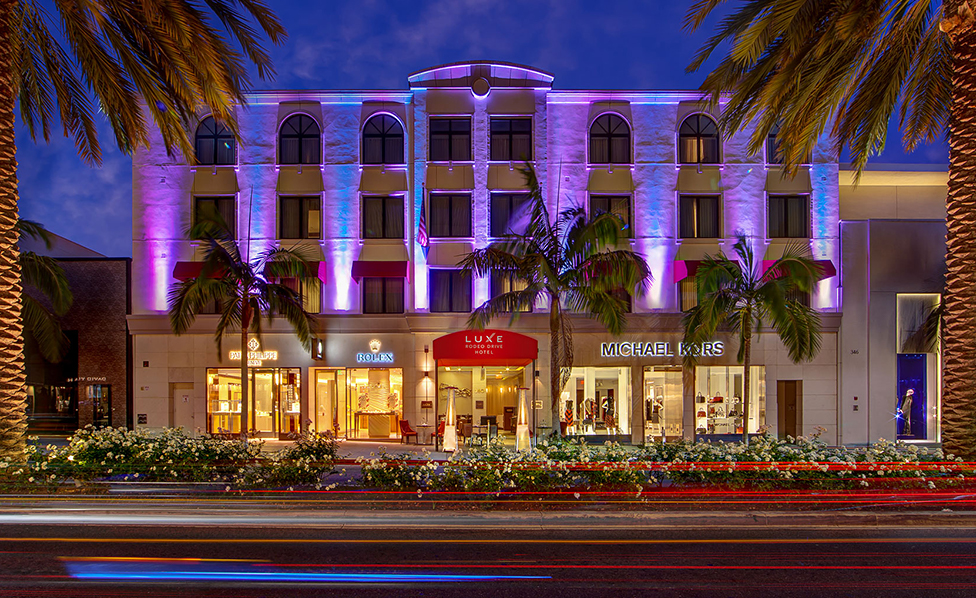luxe hotel rodeo drive luxury epicenter