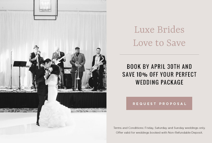 luxe sunset boulevard wedding popup