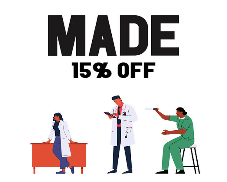 made web offers healthcare discount 1