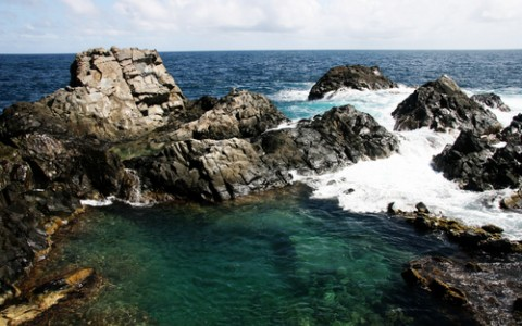 The Natural Pool of Arikok National Park