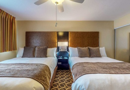 marin suites two bedroom suite double bed accomodations