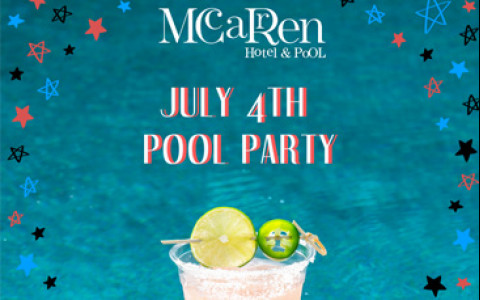 July 4th Pool Party!