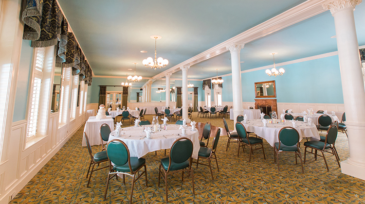 The Minuet Room at The Menger Hotel