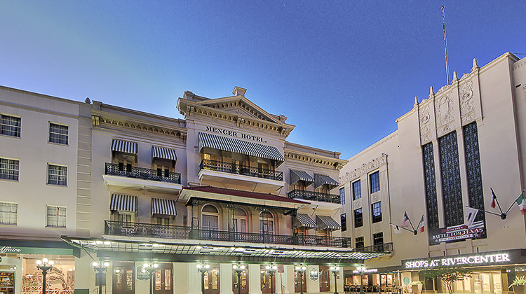 The Menger Hotel Exterior