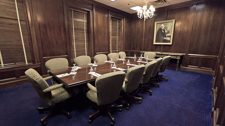 The Sam Houston Boardroom at The Menger Hotel