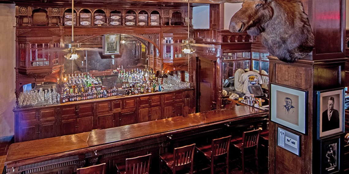 view of the menger dining bar