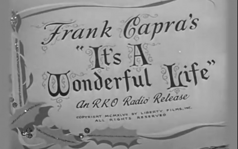 Its a Wonderful Life Title Card
