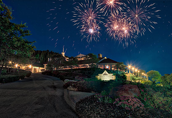 Mission Point Resort - Fourth of July Fireworks on Mackinac