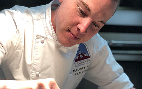 Meet the Chef<br>Matthew Nelson, Executive Chef