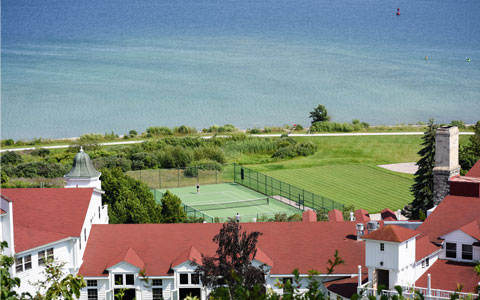 Mackinac Island Tennis Court