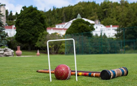 Croquet & Bocce Ball Lawn