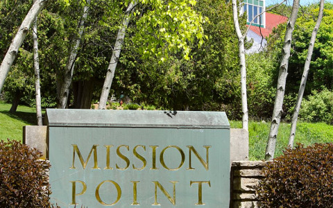 Mission Point Resort entrance
