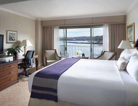 Monterey Plaza Hotel | Guest Rooms | Monterey Bay Hotels