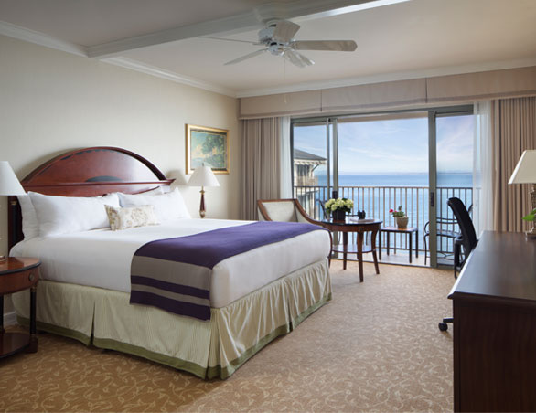 room with view of the pacific ocean