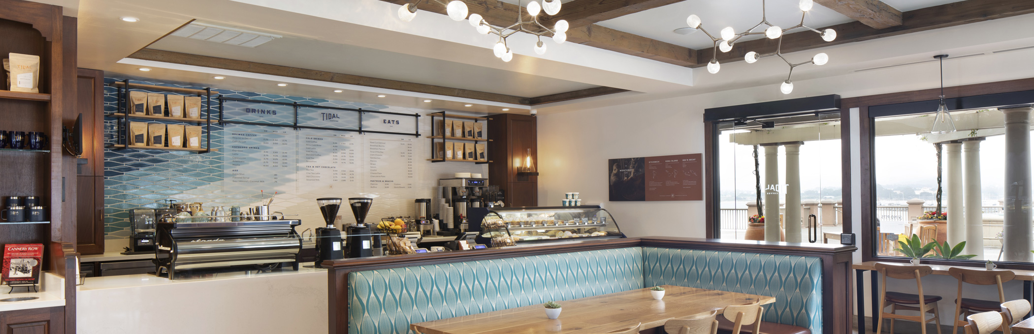 tidal coffee dining room header