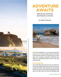 san francisco traveler magazine screenshot
