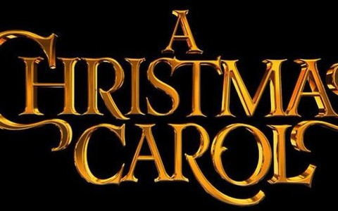 A Christmas Carol in Gold Letters