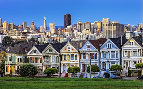 famous painted lady houses