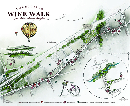 WineWalk map Image