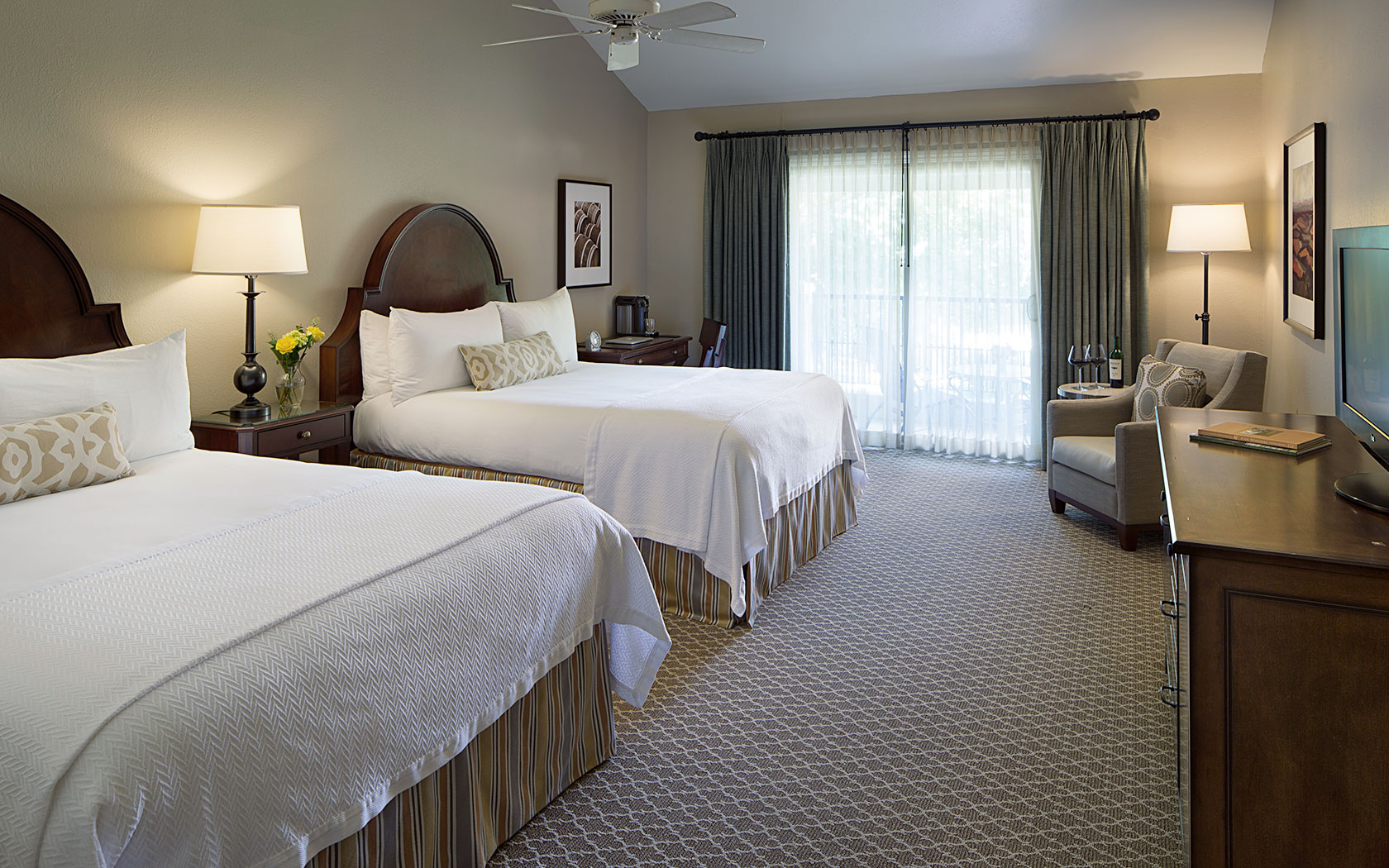 Napa Valley Lodge Rooms Yountville Hotels