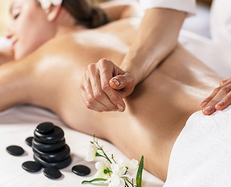 women receiving massage Image