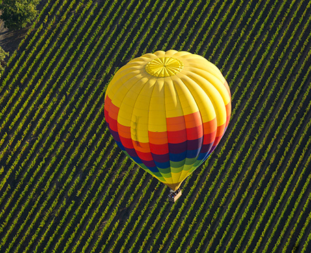 Napa Valley Hot Air Balloon Package
