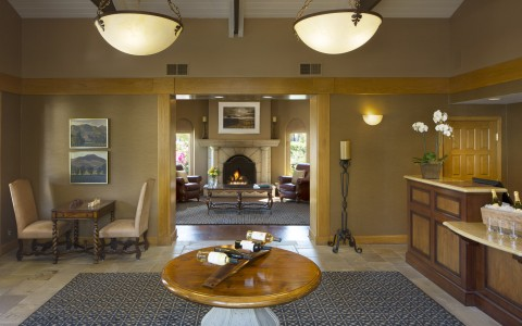 napa valley lodge lobby
