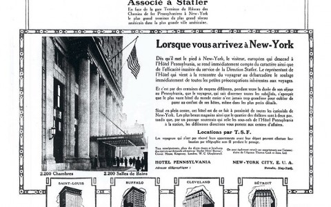 Hotel Penn Featured in Old Newspaper