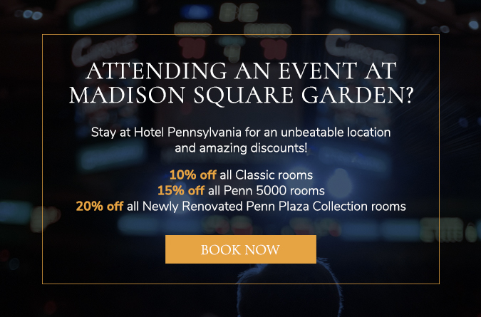 madison square garden promotion popup